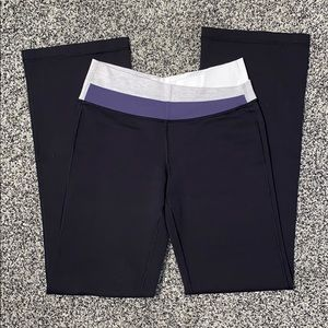 Lululemon like new size 6 black leggings pants
